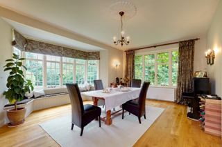 The Dining Room at Woodspeen Manor